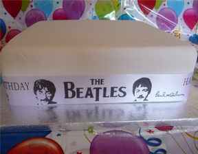 THE BEATLES PERSONALISED RIBBON
